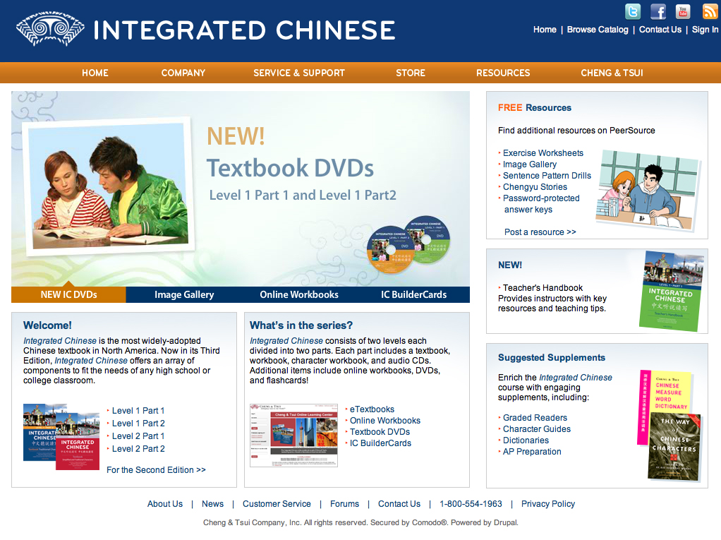 Integrated Chinese Companion Website